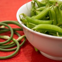 Sugar Snaps and Scapes